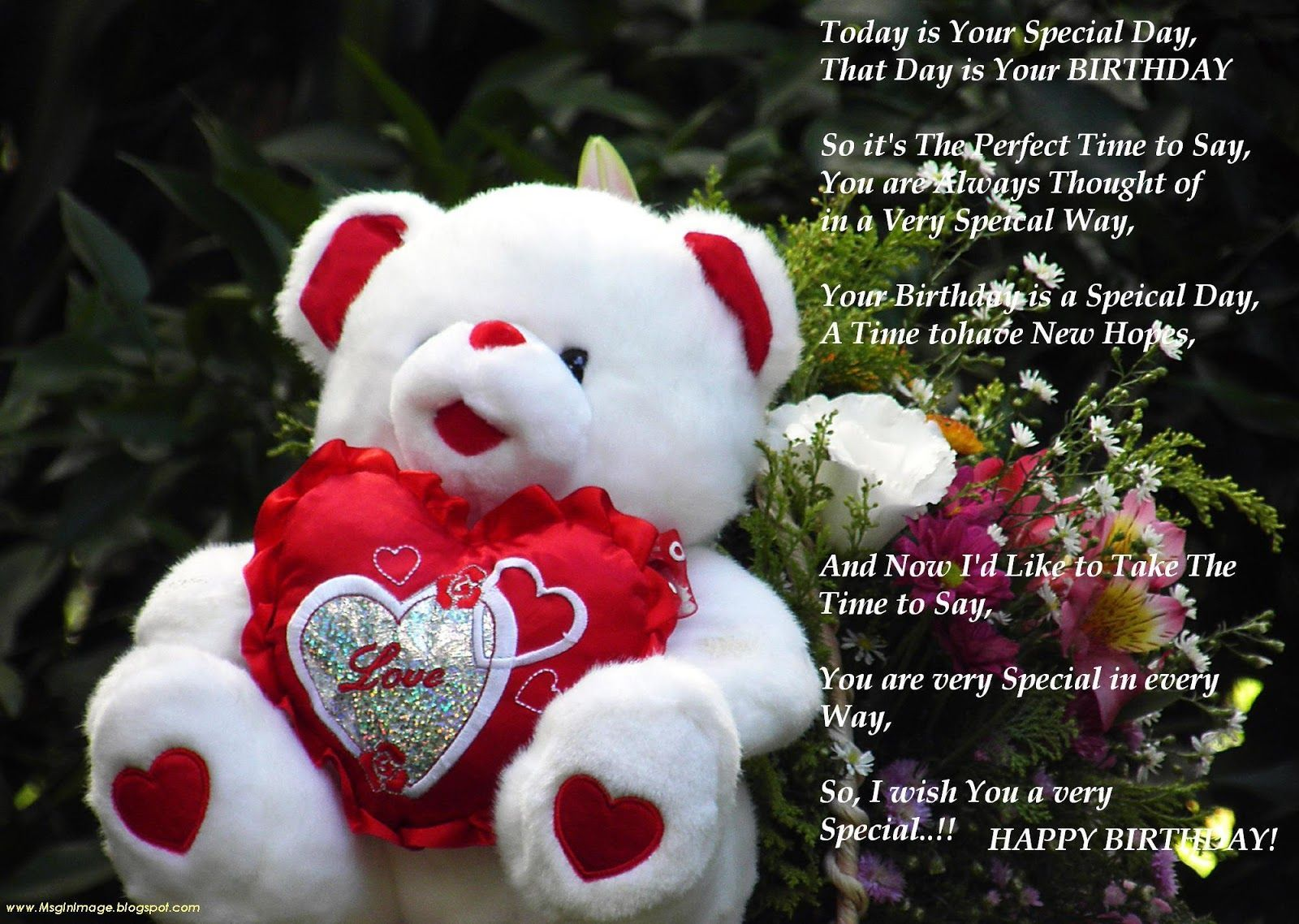 Happy Bbirthdayb To Love Happy Bbirthdayb Sweet Flower
