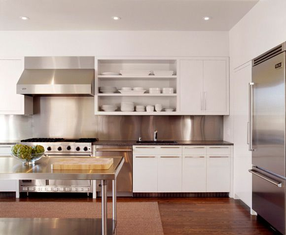 Stainless Steel Liances Ly White Kitchen With