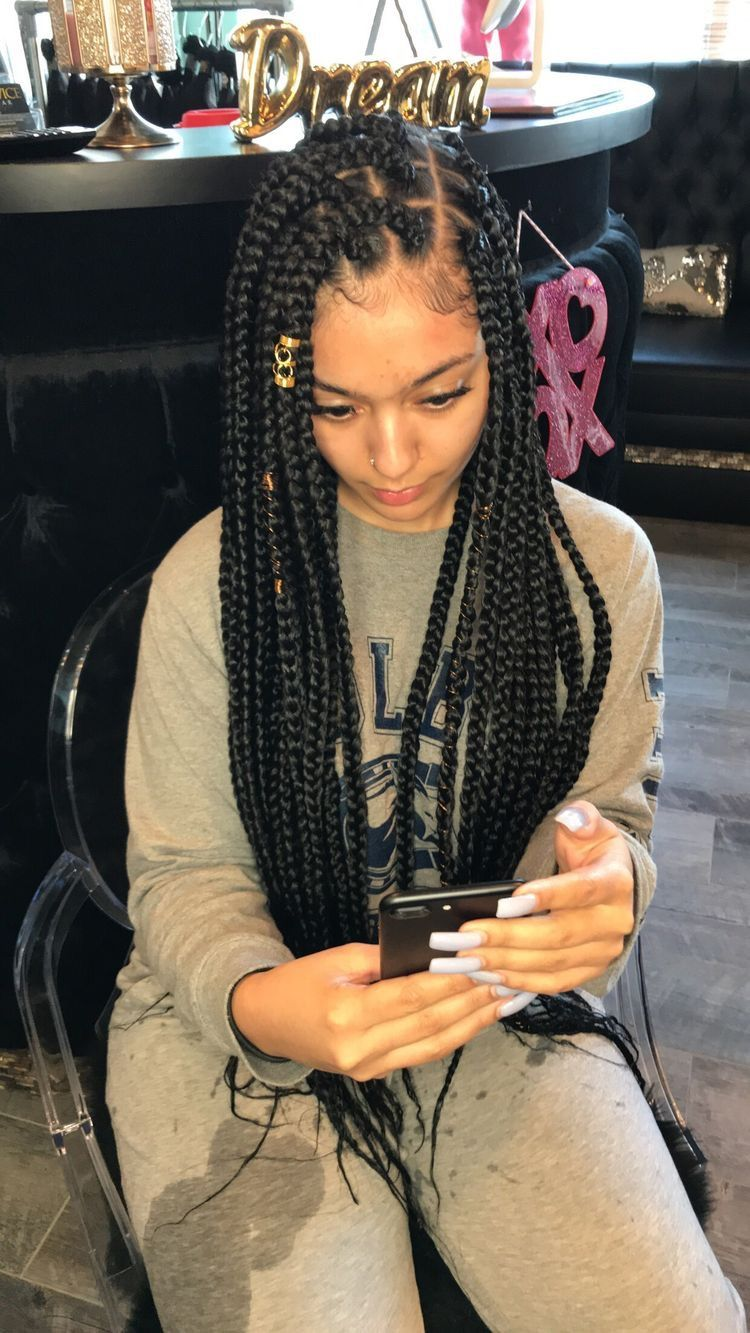 Pin By Queenrelatable On H A I R ϸ� Boxer Braids