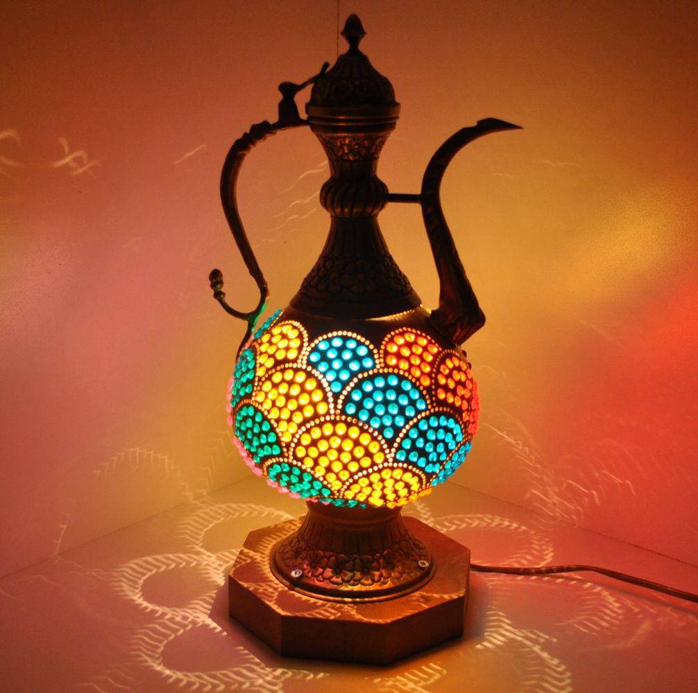 Gourd Lamps / Art Mosaic Lamp Mosaiclamps Mozaik Lamba Lambasý .