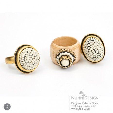 Innovative Jewelry with Epoxy Clay   Nunn Design Jewelry