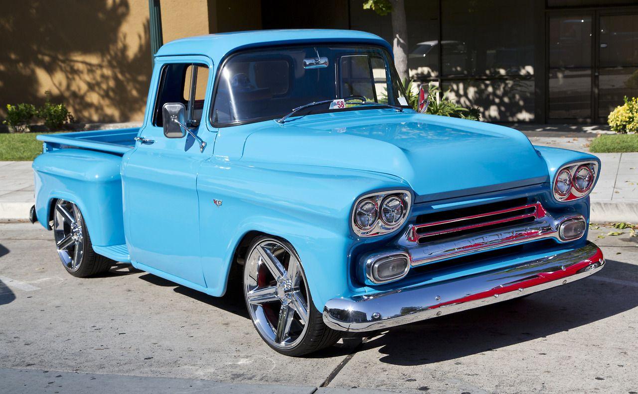 Custom Chevrolet Apache Pickup Truck 1958 | American Muscle Cars ...