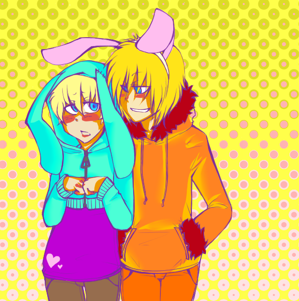 EASTER BUNNY by Catastrophilia South park, Butters south