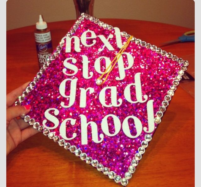 Sparkle graduation pinterest cap college and grad cap for Accounting graduation cap decoration