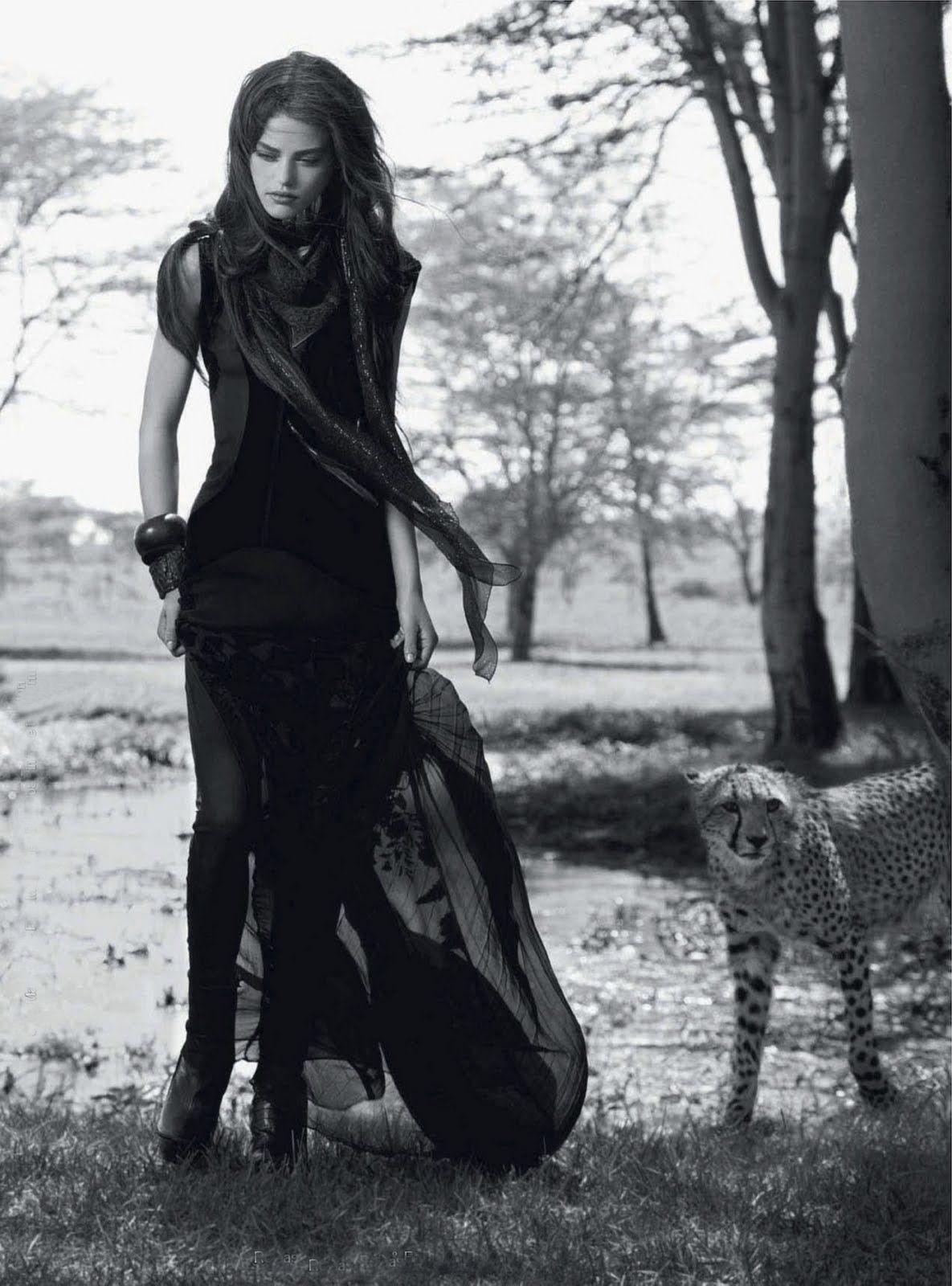 Daria Pleggenkuhle by Mark Segal for Harper's Bazaar UK