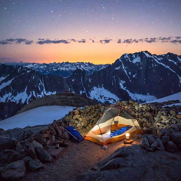Sahale Glacier Camp, WA