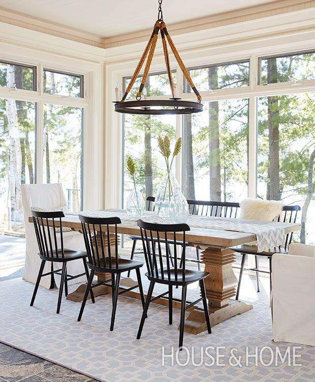 25+ Dining Rooms That Invite The Outdoors In