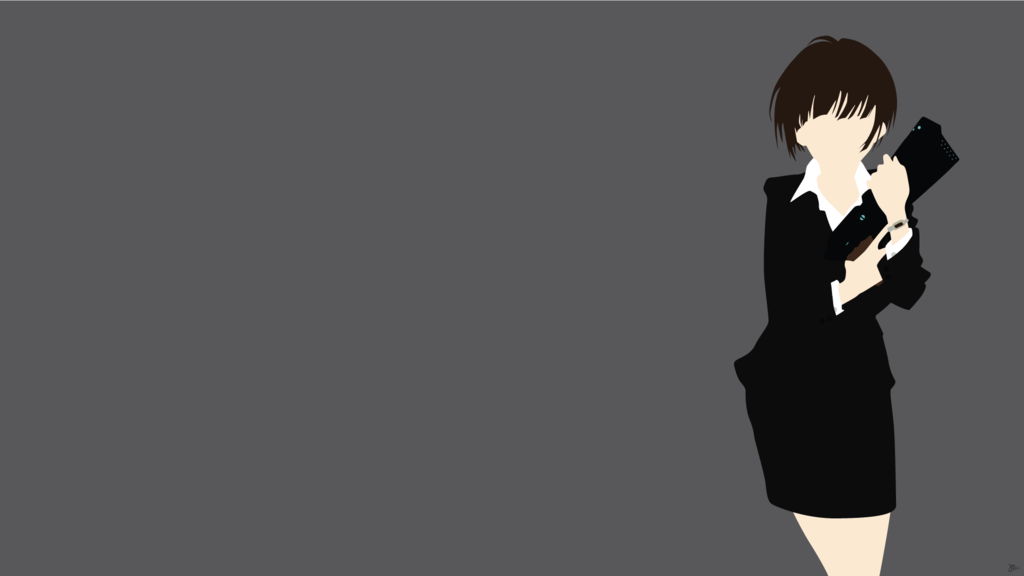 Akane Tsunemori (Psycho Pass) Minimalist Wallpaper by ...
