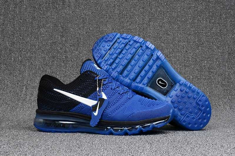 innovative design f967d 21b2b 1884   Nike Air Max 2017 Herr Royal Svart Blå SE445416WUSKy