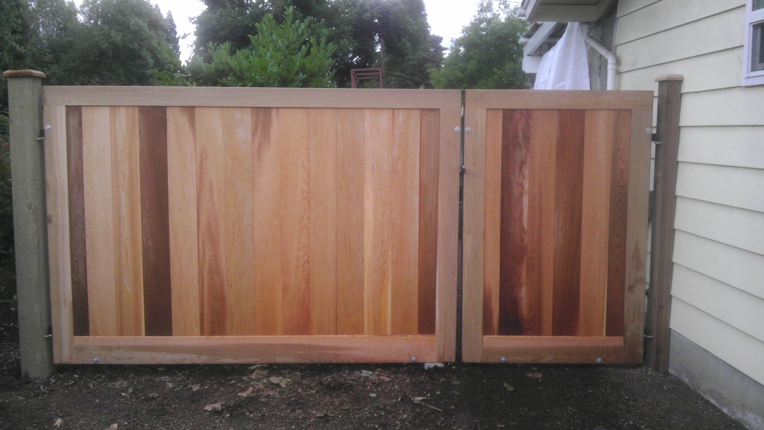 Double Fence Gate Read This Cutom Fence Gates For You