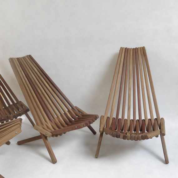Reserved For Veronique Chaise En Bois Pliante Wooden Slats Etsy Wooden Slats Outdoor Chairs Chair
