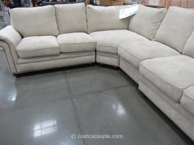 Marks And Cohen Laurel Fabric Sectional Costco Sectional Sofa