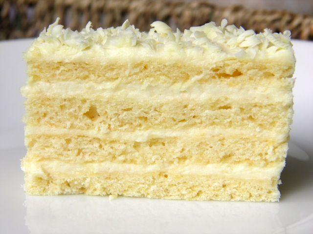 Layered Vanilla Cake Recipes: Croatian White Pie (sour Cream And Vanilla