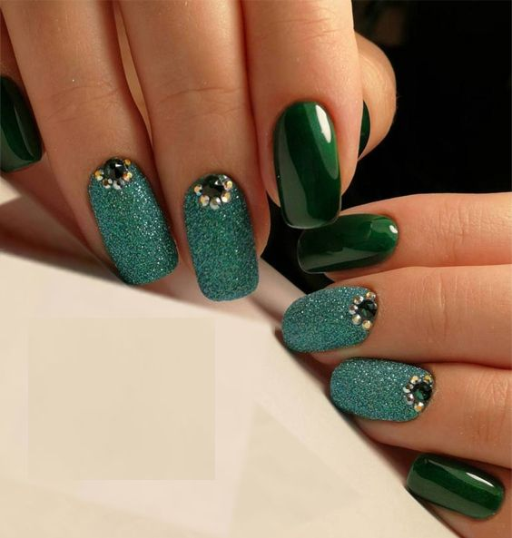 50 Trendy Gel Nail Arts And Nail Polish Trends For Girls
