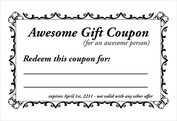 Coupon Template Check More At Https Cleverhippo Org Coupon Template