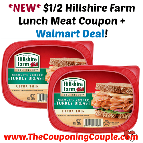 New 1 2 Hillshire Farm Lunch Meat Coupon Walmart Deal Meat Coupons Lunch Meat Walmart Deals