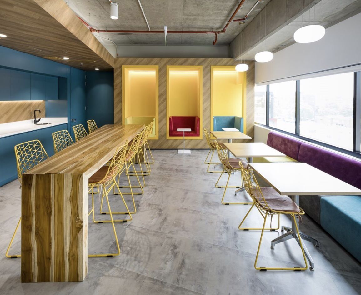 Break Rooms Are An Often Overlooked Feature Of The Workplace That