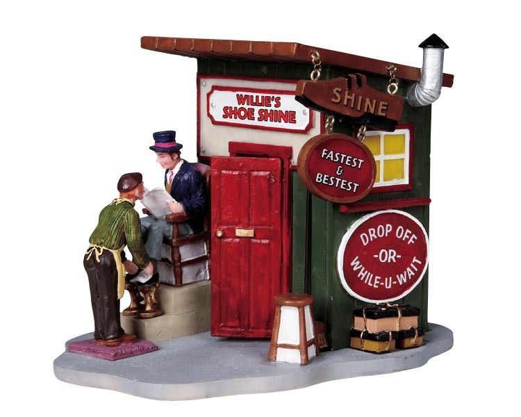 LEMAX CAROLE TOWNE COLLECTION WILLIES SHOE SHINE NEW | Christmas ...