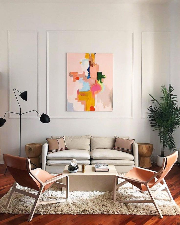 Dream Living Room Designs: Colorful Living Room Inspiration With Millennial Pink And