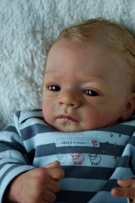Baby Reborn Dolls Newborn Romeo By Natali Blick Amazing L E 100 Reborn Dolls Newborn Baby Dolls Realistic Baby Dolls