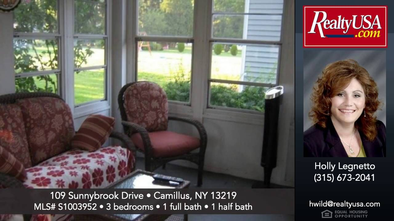 Homes For 109 Sunnybrook Drive Camillus Ny 13219 Realtyusa