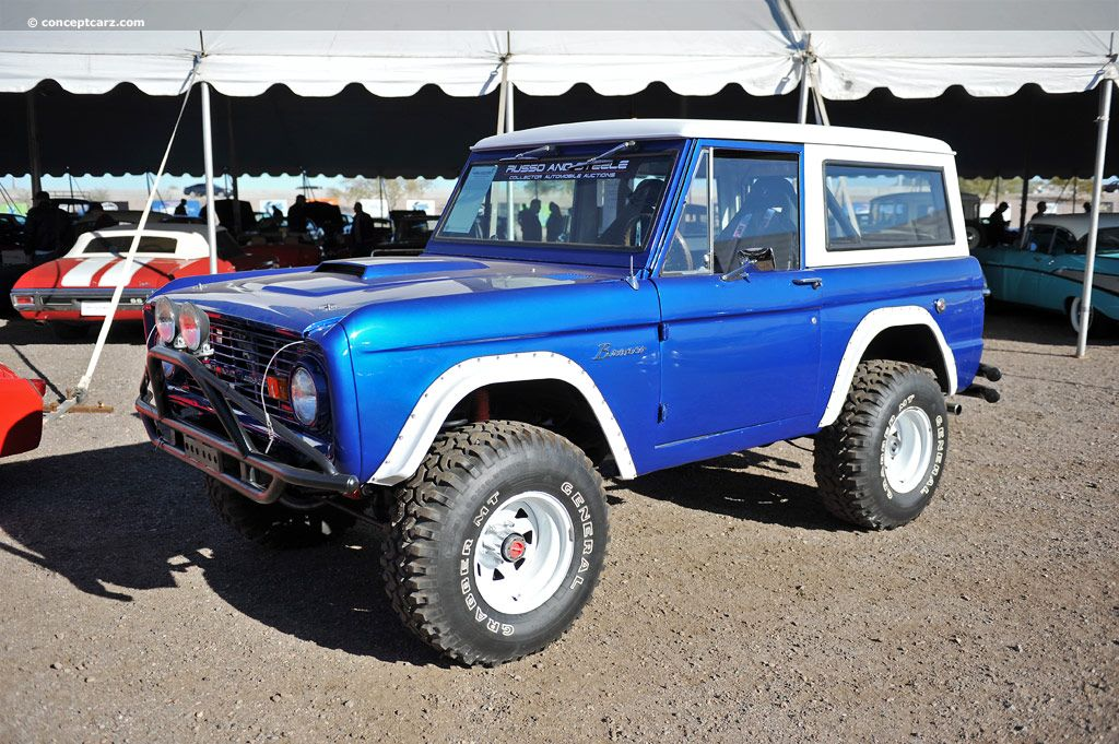1969 Ford Bronco Image Ford bronco, Old ford bronco, Bronco