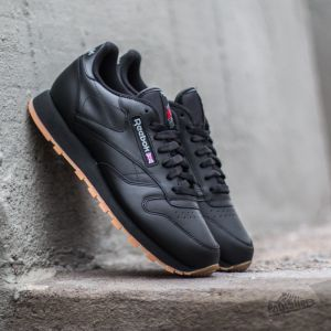 Reebok Classic Leather Black/ Gum · Men's ShoesShoes ...