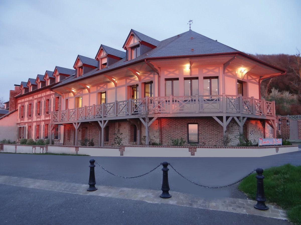 Gites et Chambre d'hotes vue sur mer à honfleur - Domaine Le Clos on