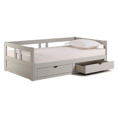 Melody Day Twin Bed With Storage Dove