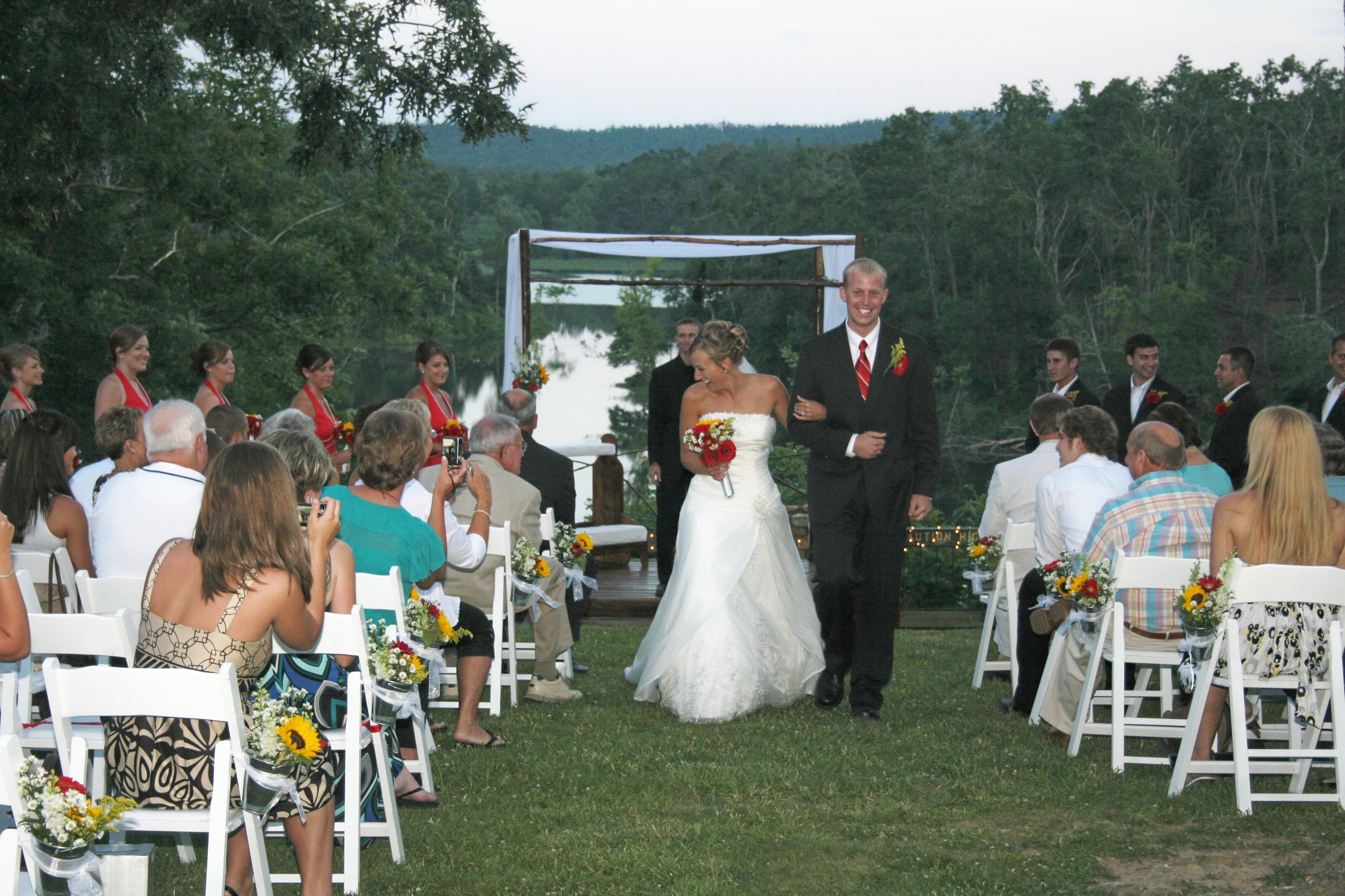 The Park Is A Beautiful Location For This Wedding At Pennyrile Forest State  Resort Park In Dawson Springs, Kentucky