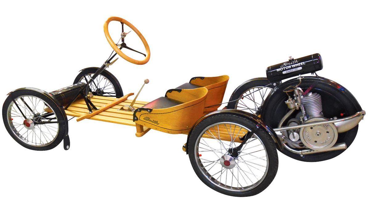 Automobile, A. O. Smith Flyer, a Rare 1917 open 2-seater, wooden ...