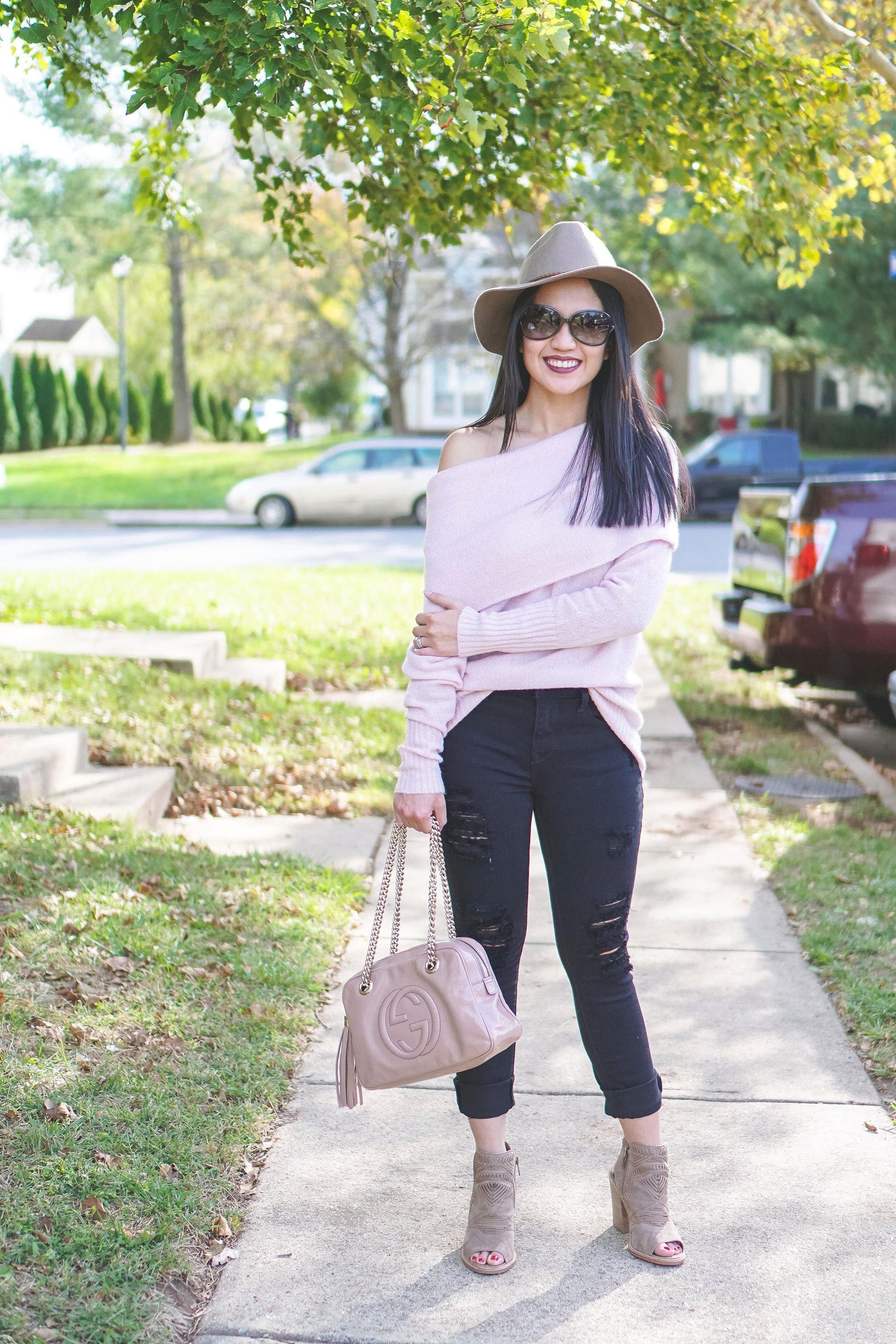 431ed09e1a How To Wear The Cold Shoulder Trend In Fall