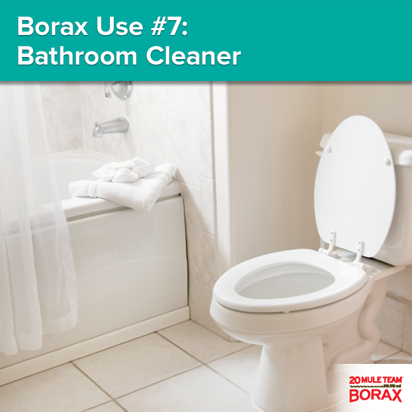 Pin By 20 Mule Team Borax On How To Use Borax Diy Bathroom Cleaner House Cleaning Tips Diy Cleaning Products