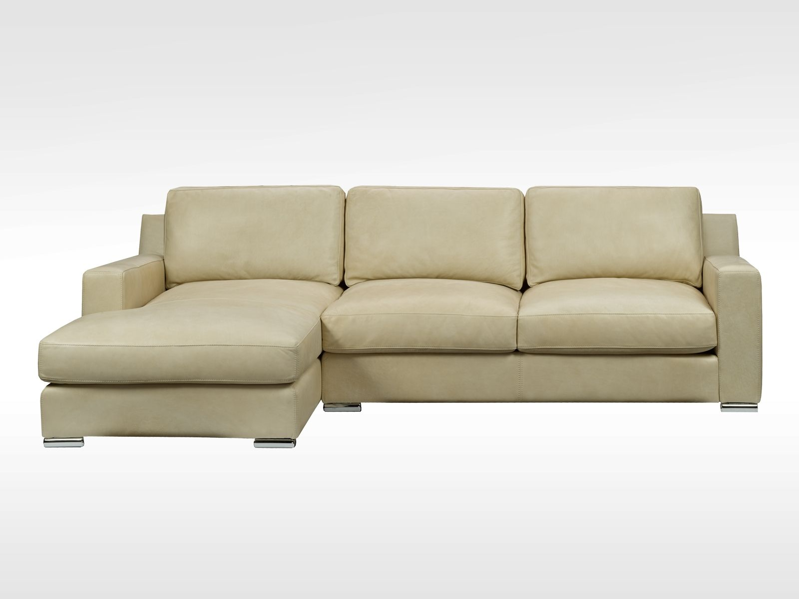 Attractive Brentwood Leather Sofa Set