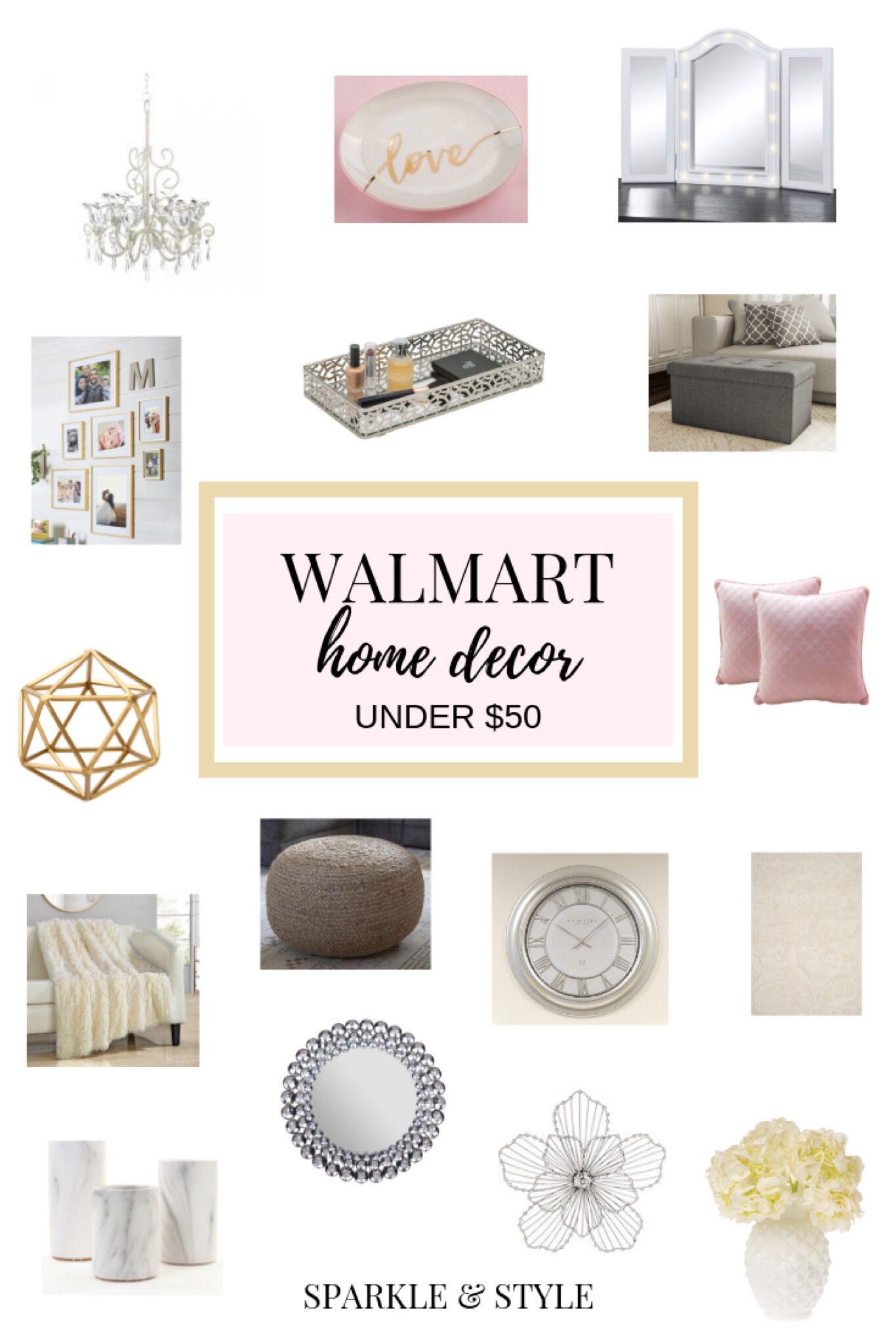 Walmart Home Decor Under $5 Roundup   Sparkle & Style   Walmart ...