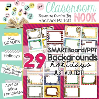 Smartboard And Powerpoint Background Templates Monthly HolidaysDo