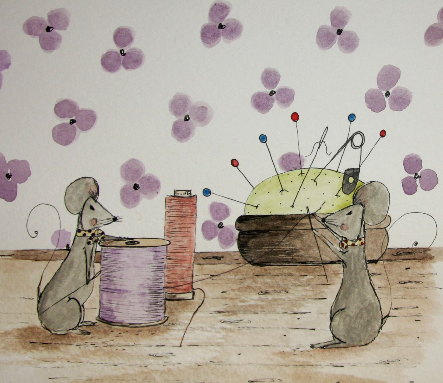 Sewing Mice
