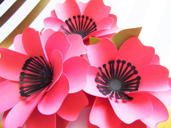 Svg paper flower cutting files diy paper flower templates flower svg paper flower cutting files diy paper flower templates flower patterns tutorial diy paper flower bouquet instant download mightylinksfo