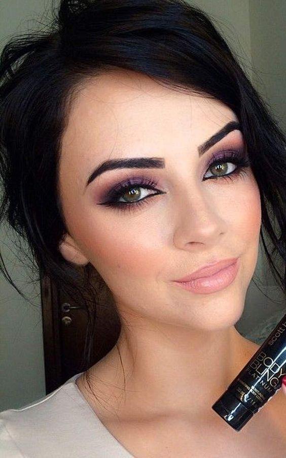 Machiaj Ochi Caprui 12 Pink Lips Maquillage Maquillage Yeux