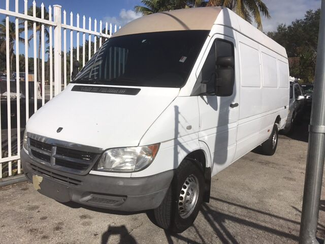 2006 Dodge Sprinter Cargo 2500 High Roof 158 Wb 3dr Extended Cargo Van For Sale By America Auto Wholesale Inc Cargo Vans For Sale Van For Sale Cargo Van