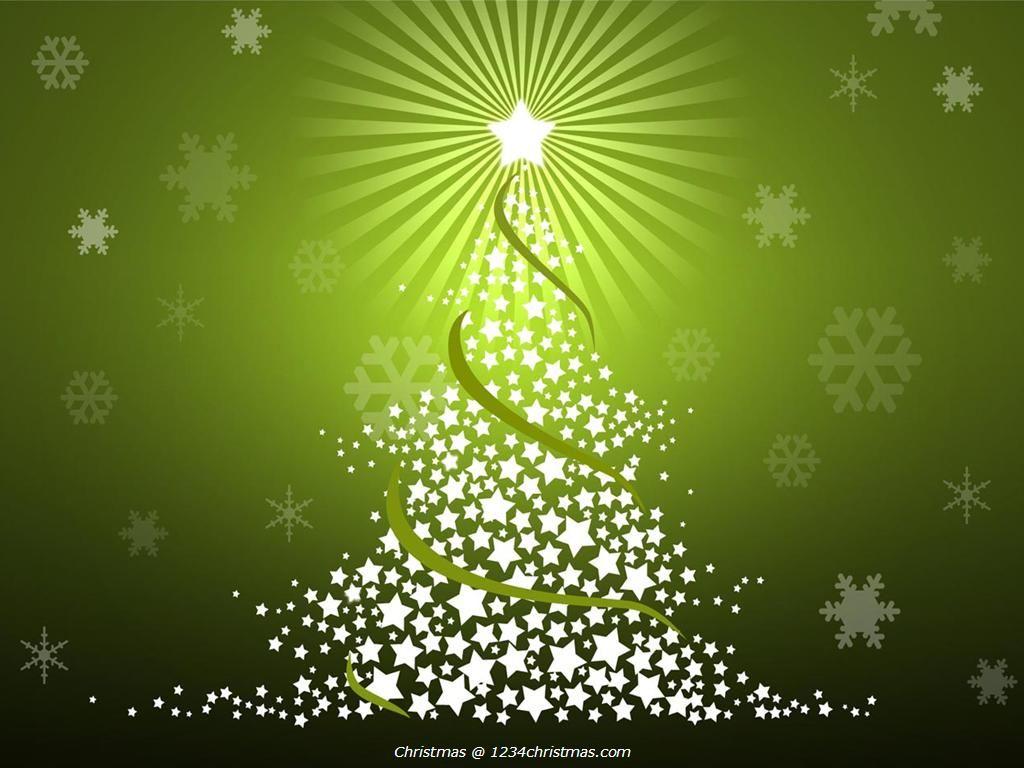 Green Christmas Tree Desktop Wallpaper | Christmas Tree Wallpapers ...