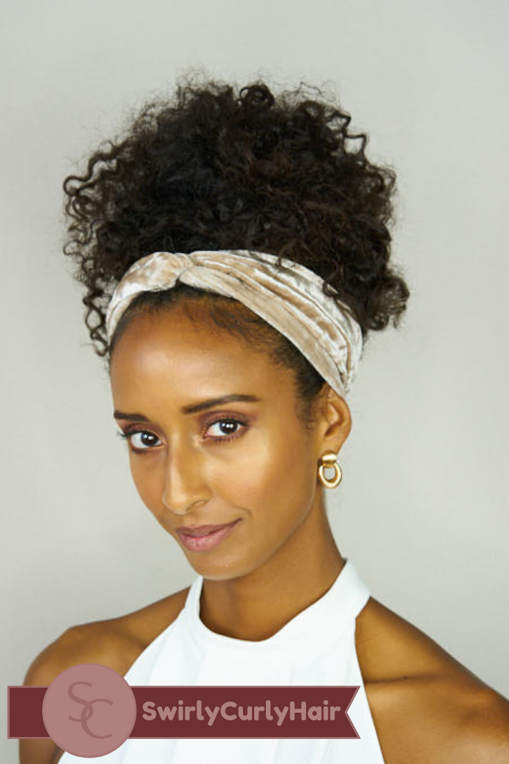 41+ Curly hair and headbands trends