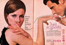vintage advertisements posters Beauty ad Nail polish Scents