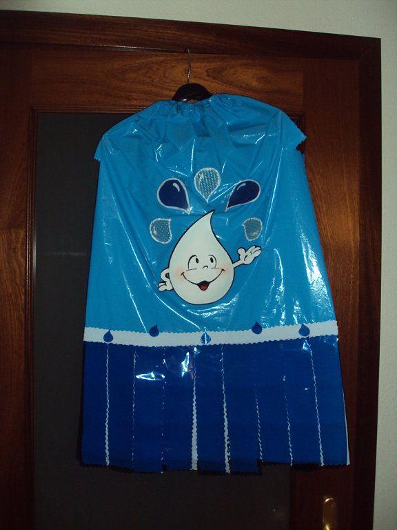 Patrones Disfraces Infantiles Tareas Rain Costume Drinking