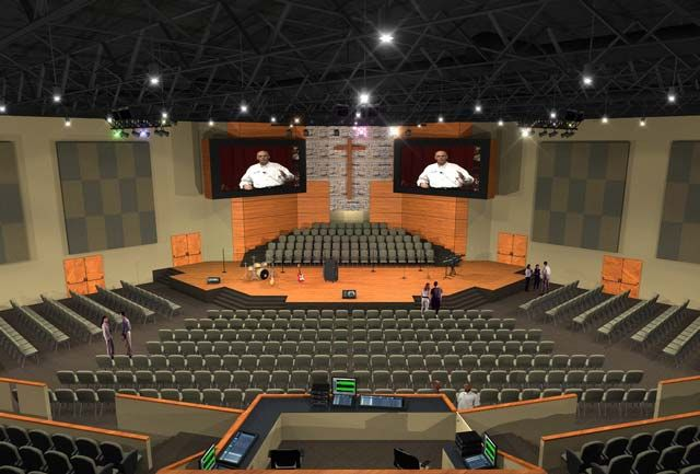 Audio Video Lighting Church