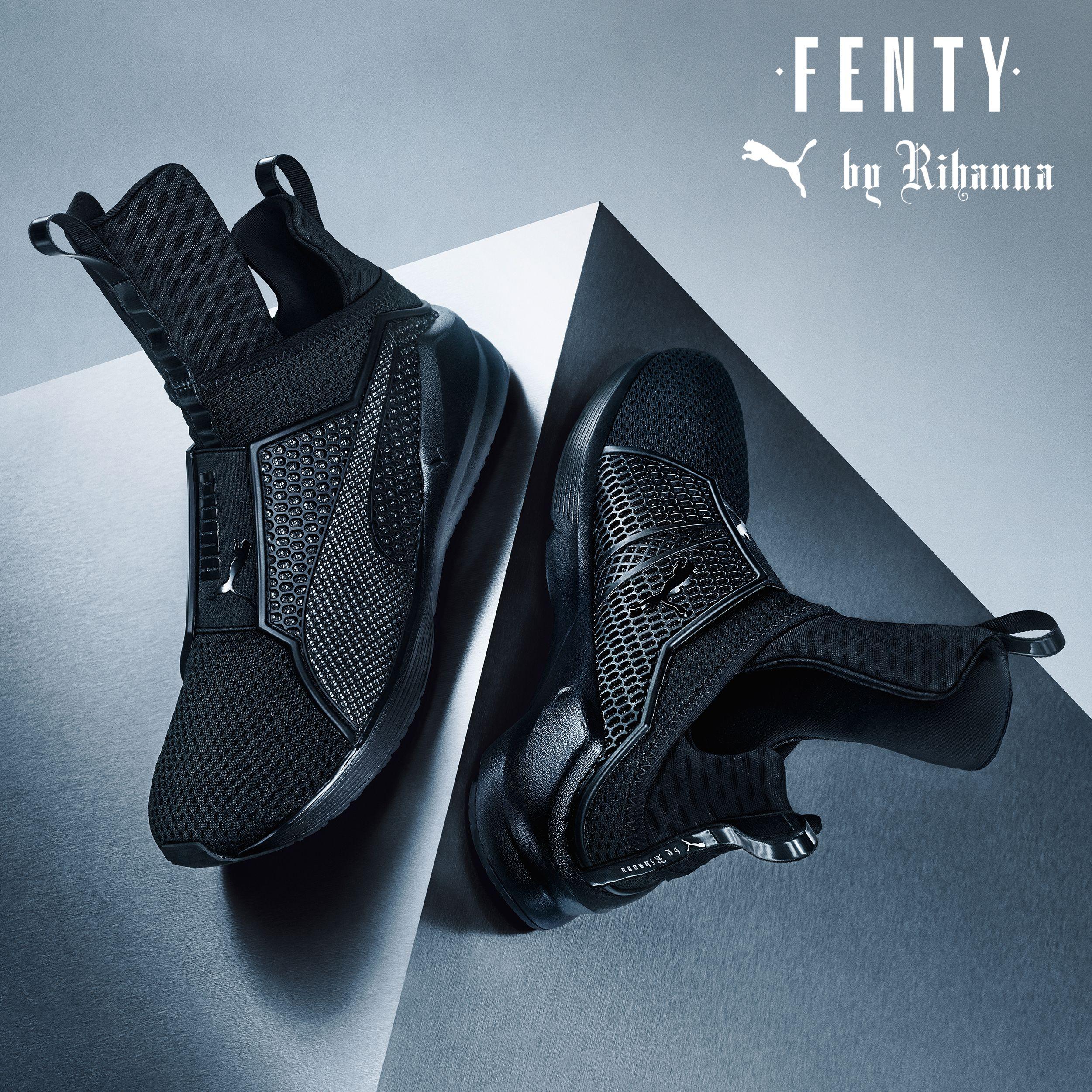 Puma Fierce Fenty By Rihanna 'Blackout' (via