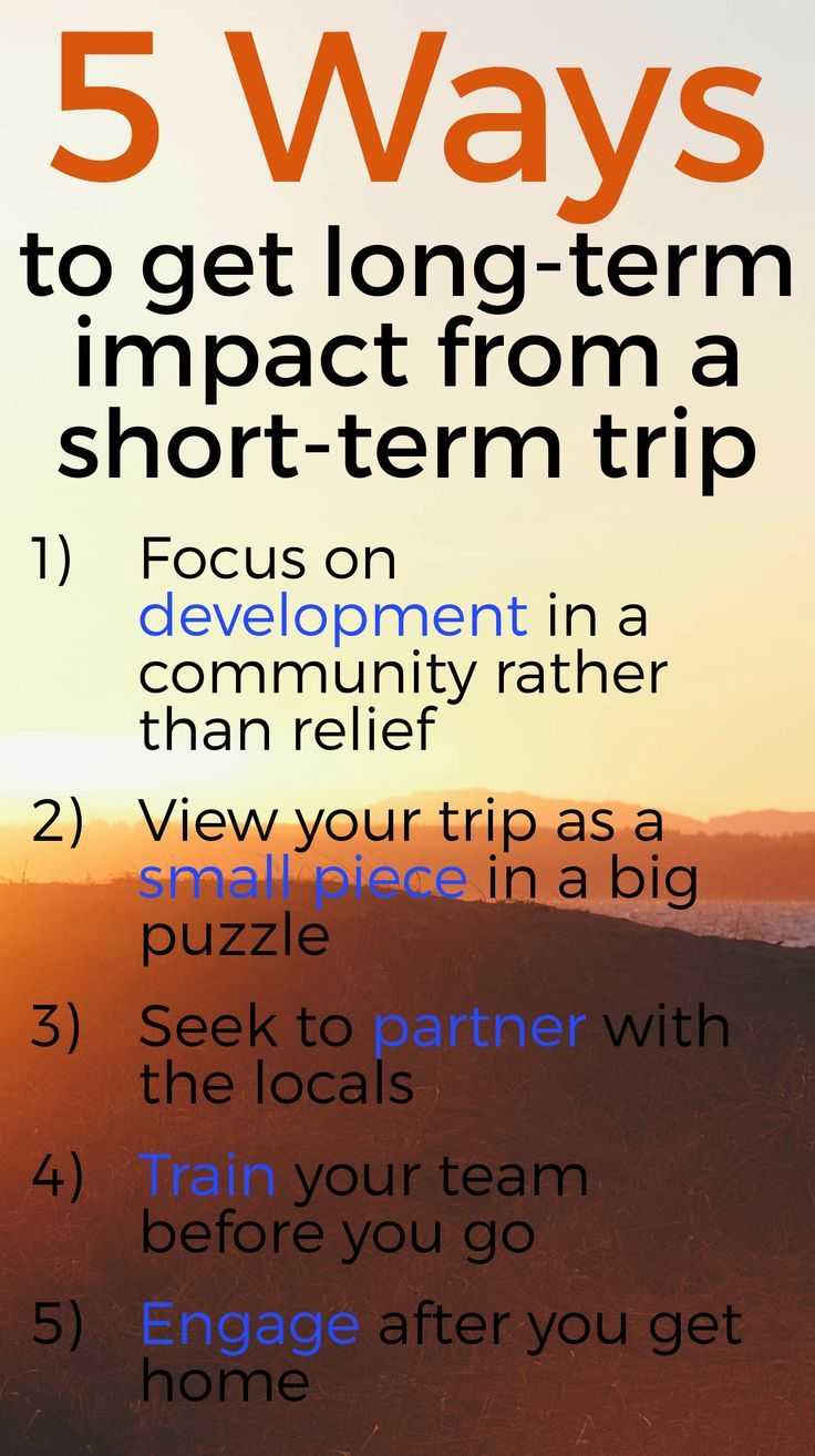 Mission Trip Quotes Here Are 5 Ways To Get Longterm Impact From Your Shortterm