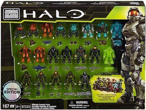 Mega Bloks Halo Série 7 Mini FigurineBrute du Covenant (Jump Pack) 5 cm