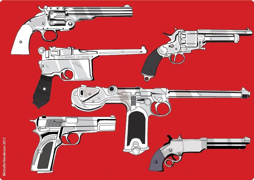 red_dead_hand_guns_by_michellehendersonda-d50uz58.jpg (842×596)