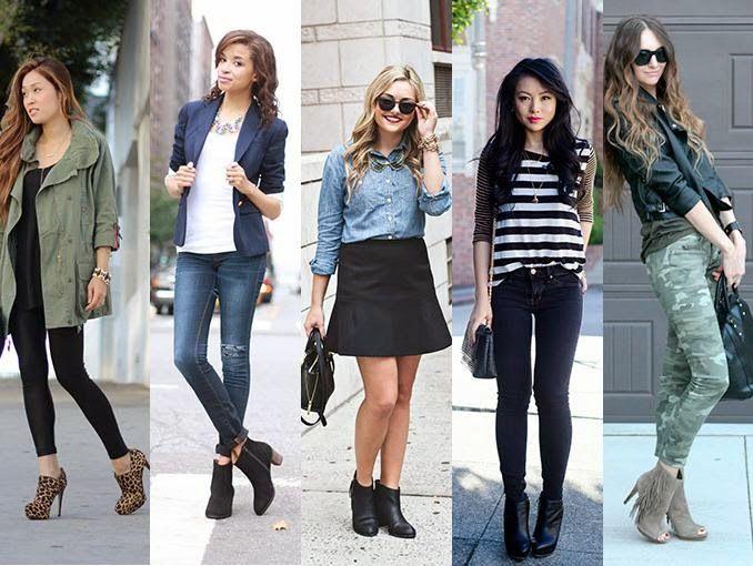 MuyVariado.com: Como usar Botines, Moda y Belleza